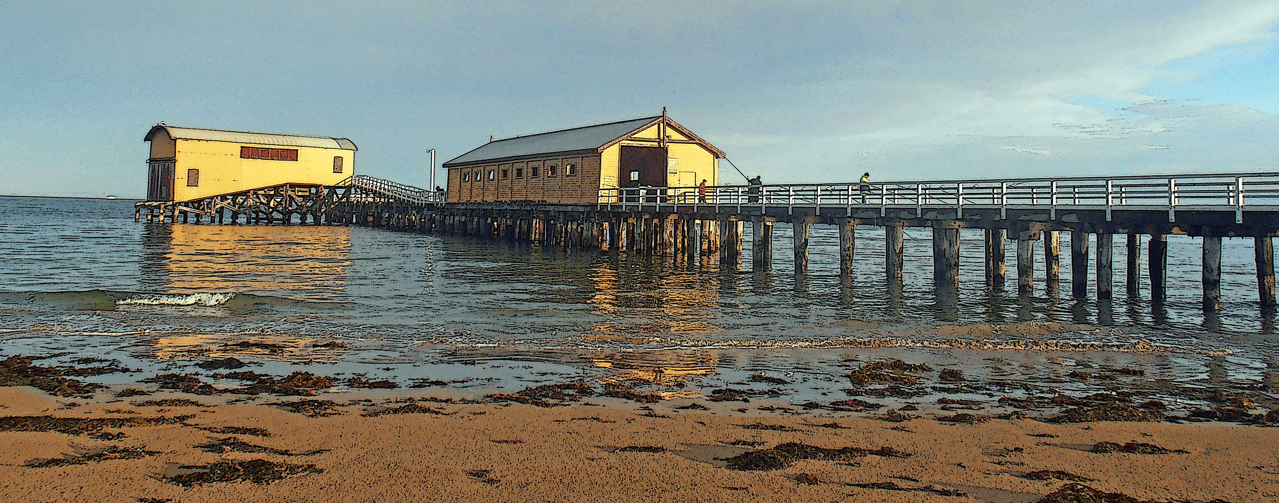 Queenscliff Pier and Lifeboat Shed